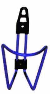 porta bido alumini blau